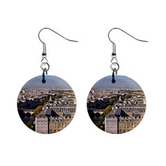 Notre Dame Mini Button Earrings