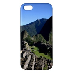 Machu Picchu Iphone 5s Premium Hardshell Case