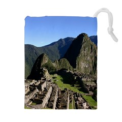 Machu Picchu Drawstring Pouches (extra Large)