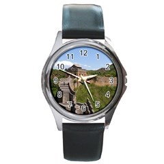 Great Wall Of China 3 Round Metal Watches by trendistuff
