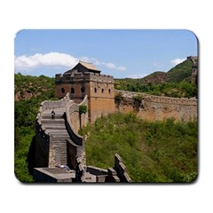 Great Wall Of China 3 Large Mousepads by trendistuff