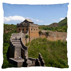 Great Wall Of China 3 Large Cushion Cases (two Sides)  by trendistuff