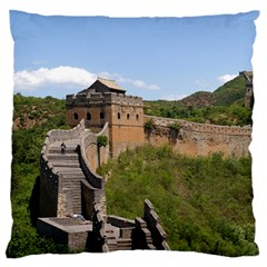 GREAT WALL OF CHINA 3 Standard Flano Cushion Cases (Two Sides)  by trendistuff