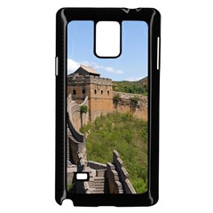 GREAT WALL OF CHINA 3 Samsung Galaxy Note 4 Case (Black) by trendistuff