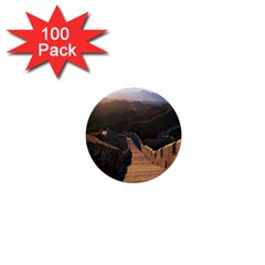 GREAT WALL OF CHINA 2 1  Mini Buttons (100 pack)  by trendistuff