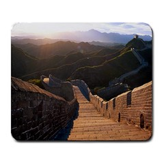 Great Wall Of China 2 Large Mousepads by trendistuff