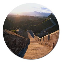 Great Wall Of China 2 Magnet 5  (round) by trendistuff