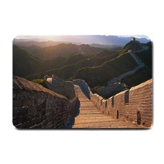 Great Wall Of China 2 Small Doormat  by trendistuff