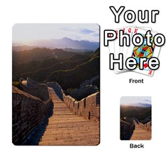 Great Wall Of China 2 Multi Purpose Cards (rectangle)  by trendistuff