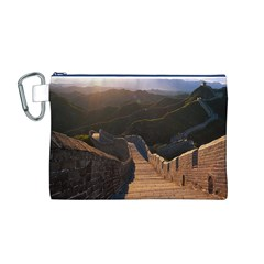 Great Wall Of China 2 Canvas Cosmetic Bag (m) by trendistuff
