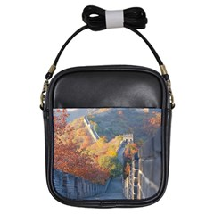 Great Wall Of China 1 Girls Sling Bags by trendistuff