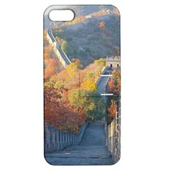 Great Wall Of China 1 Apple Iphone 5 Hardshell Case With Stand by trendistuff