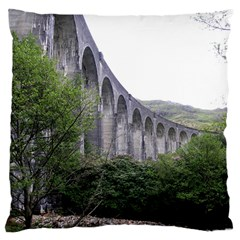 Glenfinnan Viaduct 2 Large Cushion Cases (two Sides)  by trendistuff
