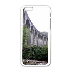 Glenfinnan Viaduct 2 Apple Iphone 6/6s White Enamel Case by trendistuff