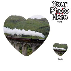 Glenfinnan Viaduct 1 Multi Purpose Cards (heart)  by trendistuff