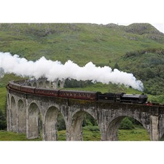 Glenfinnan Viaduct 1 Birthday Cake 3d Greeting Card (7x5)