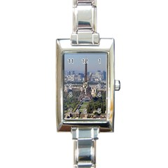 Eiffel Tower 2 Rectangle Italian Charm Watches by trendistuff