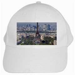 Eiffel Tower 2 White Cap by trendistuff