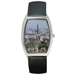 Eiffel Tower 2 Barrel Metal Watches by trendistuff