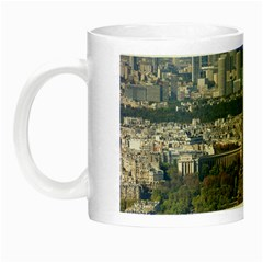 Eiffel Tower 2 Night Luminous Mugs by trendistuff