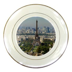 Eiffel Tower 2 Porcelain Plates by trendistuff