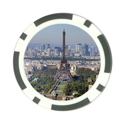 Eiffel Tower 2 Poker Chip Card Guards by trendistuff