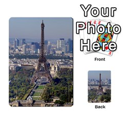 Eiffel Tower 2 Multi Purpose Cards (rectangle)  by trendistuff