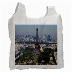 Eiffel Tower 2 Recycle Bag (one Side) by trendistuff