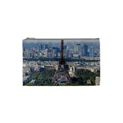 Eiffel Tower 2 Cosmetic Bag (small)  by trendistuff