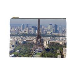 Eiffel Tower 2 Cosmetic Bag (large)  by trendistuff