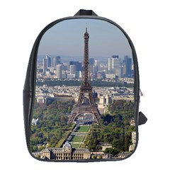 Eiffel Tower 2 School Bags(large)  by trendistuff