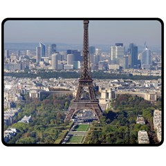 Eiffel Tower 2 Fleece Blanket (medium)  by trendistuff