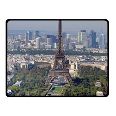 Eiffel Tower 2 Fleece Blanket (small) by trendistuff