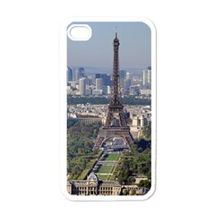 Eiffel Tower 2 Apple Iphone 4 Case (white) by trendistuff