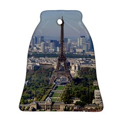 Eiffel Tower 2 Bell Ornament (2 Sides) by trendistuff