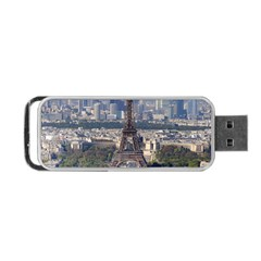Eiffel Tower 2 Portable Usb Flash (two Sides) by trendistuff