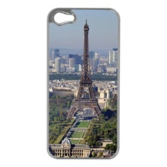 Eiffel Tower 2 Apple Iphone 5 Case (silver) by trendistuff