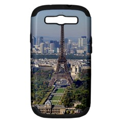 Eiffel Tower 2 Samsung Galaxy S Iii Hardshell Case (pc+silicone) by trendistuff