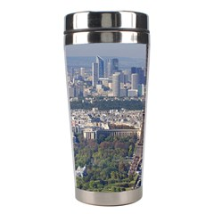 Eiffel Tower 2 Stainless Steel Travel Tumblers by trendistuff