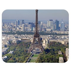 Eiffel Tower 2 Double Sided Flano Blanket (medium)  by trendistuff
