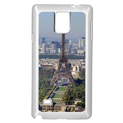 Eiffel Tower 2 Samsung Galaxy Note 4 Case (white) by trendistuff