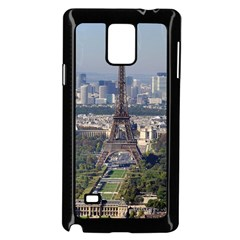 Eiffel Tower 2 Samsung Galaxy Note 4 Case (black) by trendistuff