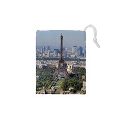 Eiffel Tower 2 Drawstring Pouches (xs)  by trendistuff