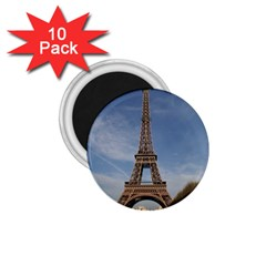 Eiffel Tower 1 75  Magnets (10 Pack)  by trendistuff