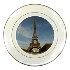 Eiffel Tower Porcelain Plates by trendistuff