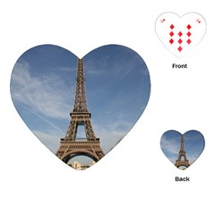 EIFFEL TOWER Playing Cards (Heart)  by trendistuff