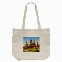 Chaiwatthanaram Tote Bag (cream)  by trendistuff