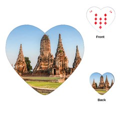 Chaiwatthanaram Playing Cards (heart)  by trendistuff