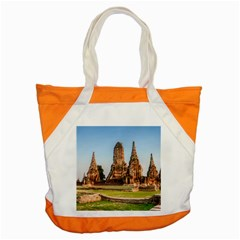 Chaiwatthanaram Accent Tote Bag  by trendistuff