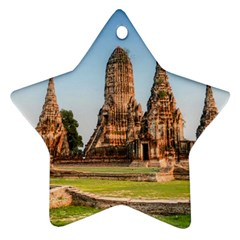 Chaiwatthanaram Star Ornament (two Sides)  by trendistuff
